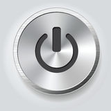 Power button Royalty Free Stock Photos