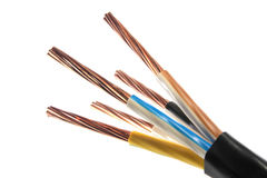 Power cable Royalty Free Stock Photo