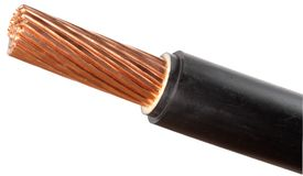 Power cable Royalty Free Stock Images