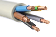 Power cable Stock Image