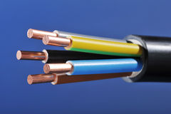 Power cable Stock Photography