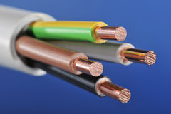Power cable Royalty Free Stock Photography