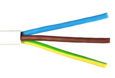 Power cable1 Stock Image