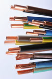 Power cables royalty free stock photography