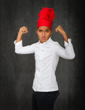 Power of chef Stock Images