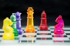 Power of Chess Stock Photo