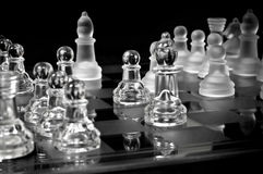 Power of Chess - view from corner Royalty Free Stock Photography