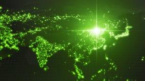Power of china, energy beam on Beijing. dark map with illuminated cities and human density areas. 3d illustration. Power of china, energy beam on Beijing. dark vector illustration