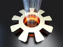 Power Configuration vector illustration