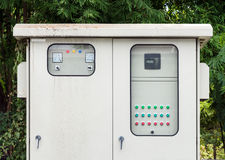 Power control  cabinet Royalty Free Stock Image