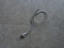 Power cord Royalty Free Stock Photo