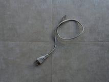 Power cord Royalty Free Stock Photo