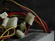 Unstable power cord Stock Photos