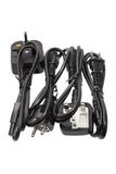 Power Cords Royalty Free Stock Image