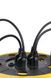 Power Cords Royalty Free Stock Images