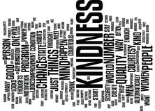 The Power Of Courtesy And Kindness Text Background  Word Cloud Concept. THE POWER OF COURTESY AND KINDNESS Text Background Word Cloud Concept Royalty Free Stock Image