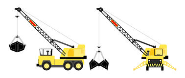 Power crane Royalty Free Stock Photos