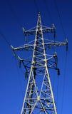 Power in dark, II stock image
