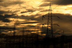 Power Dawn Royalty Free Stock Photo