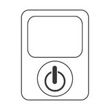 power device button icon Royalty Free Stock Photo