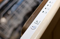 Power dishwasher Royalty Free Stock Photos