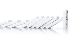 Power domino Royalty Free Stock Photo