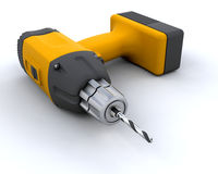 Power drill Royalty Free Stock Photos