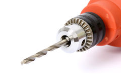 Power drill with bit Stock Photography