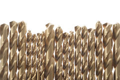 Power drill bits Royalty Free Stock Image