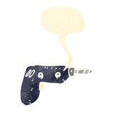 Power drill cartoon Royalty Free Stock Photo
