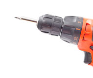 Power Drill Head Royalty Free Stock Photo