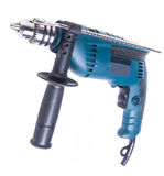 Power drill. power drill on the background Royalty Free Stock Photography