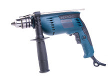 Power drill. power drill on the background Stock Photo