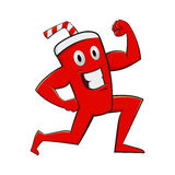 Power Drink Character Stock Images