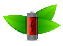 Power ecology symbol. illustration design Royalty Free Stock Photo