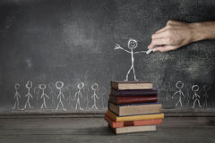 The power of education Stock Photo