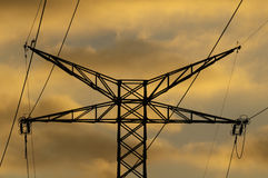 Power Electric Tower Stock Images