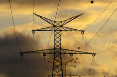 Power Electric Tower Royalty Free Stock Photography