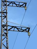 Power electrical line pylone, energy, Royalty Free Stock Image