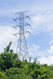 Power Electrical Transmission Lines Royalty Free Stock Photos