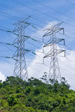 Power Electrical Transmission Lines Royalty Free Stock Photo