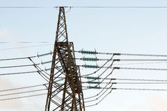 Power electricity pylon Royalty Free Stock Photography