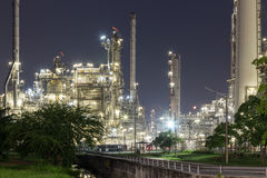 Power and energy factory. Power and energy oil refinery factory Royalty Free Stock Photography