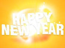 Power Energy Light Happy New Year Background Royalty Free Stock Image