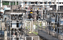 Power and energy plants Stock Image