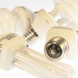 Power Energy Saving Bulbs Royalty Free Stock Image