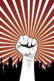 Power Fist. Vector illustration of a human fist royalty free illustration