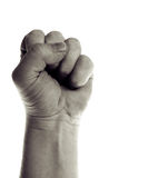 Power fist isolated Royalty Free Stock Photos