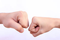 Power Fists Royalty Free Stock Image