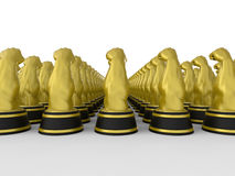 Power and force awards. 3D render illustration of multiple power and force awards. The composition is  on a white background with shadows Stock Photos